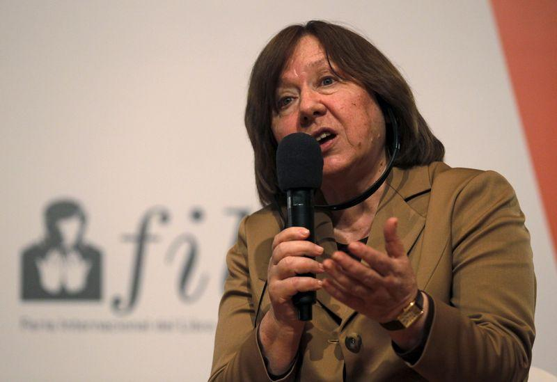 Belarus investigators to question Nobel laureate Alexievich amid crackdown