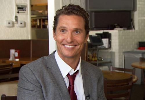 Matthew McConaughey chats with Access Hollywood on Jun 19, 2012 -- Access Hollywood