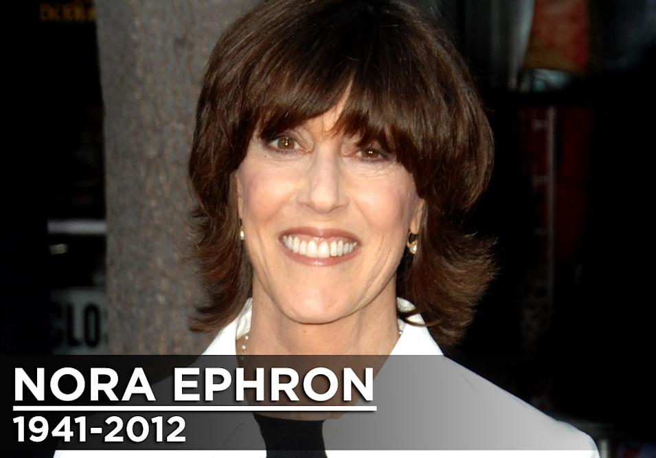 Nora Ephron Obituary title Card