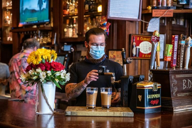 A bar in Austin, Texas, where Governor Greg Abbott has ordered such establishments to close amid a surge in coronavirus cases
