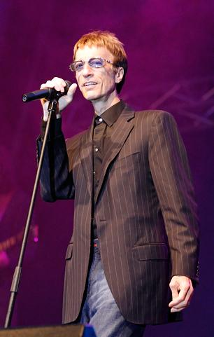 Robin Gibb's Health Improves