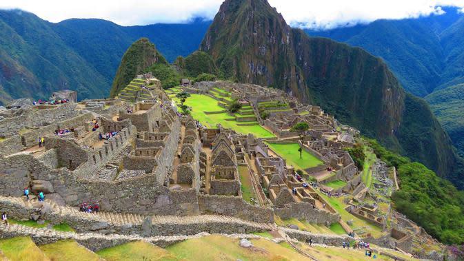 Machu Picchu di Peru. (dok. Pexels/Pixabay)
