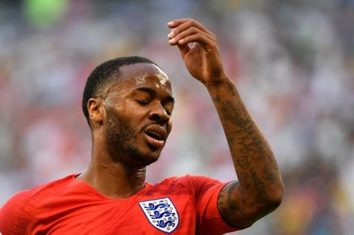 Raheem Sterling has failed to hit top form so far during England's run to the World Cup semi-finals