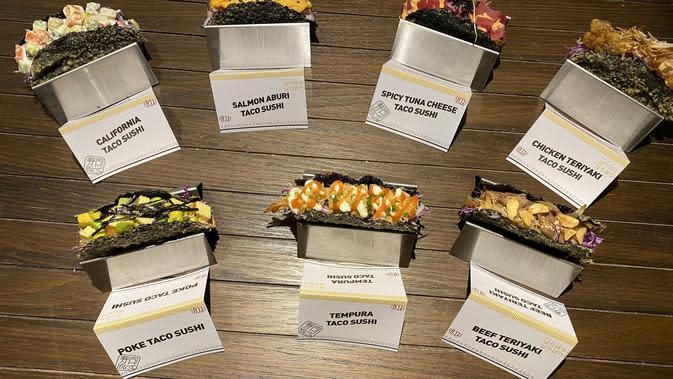 Taco Sushi dari Sushi Groove