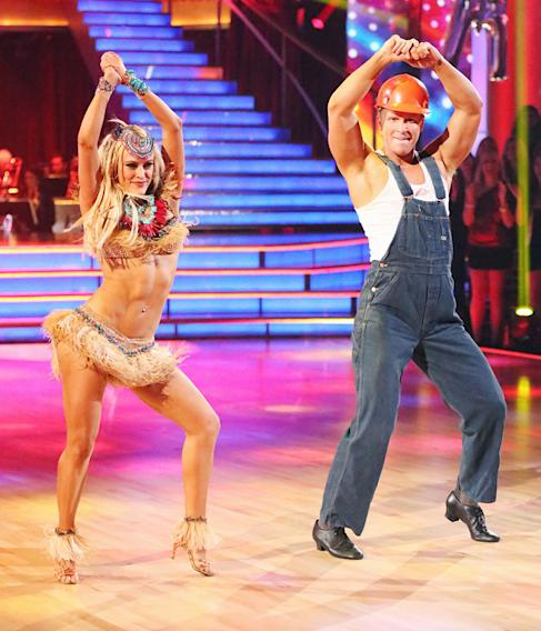 Peta Murgatroyd and Sean Lowe (4/1/13)
