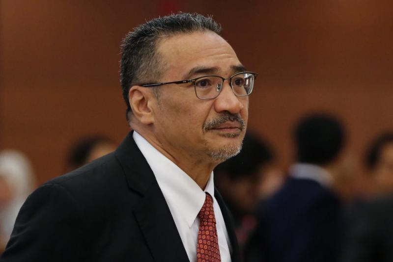 Datuk Raja Kamarul Bahrin Shah Raja Ahmad says Datuk Seri Hishammuddin Hussein (pic) did nothing of note for the ministry during the Barisan Nasional administration. ― Picture by Yusof Mat Isa