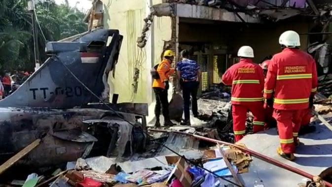Catatan Kelam Pesawat Tempur TNI di Riau