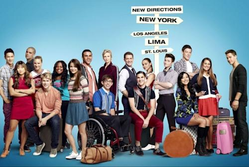 A cast shot for 'Glee' Season 4 -- Ryan Murphy/FOX/Twitter