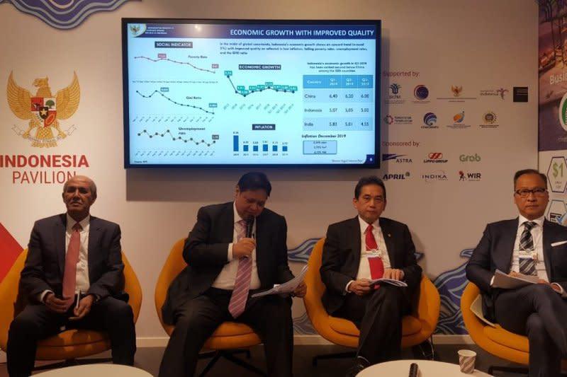 Airlangga ingatkan pentingnya transformasi ekonomi Indonesia dalam WEF