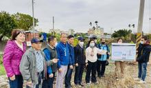 神岡溪洲社區跨越軟埤仔溪景觀人行便橋 立委爭取4月動工