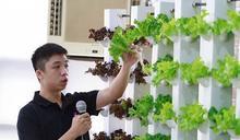 逢甲大學發表「電漿氣霧」栽培,如驚蟄春雷響滋養植物