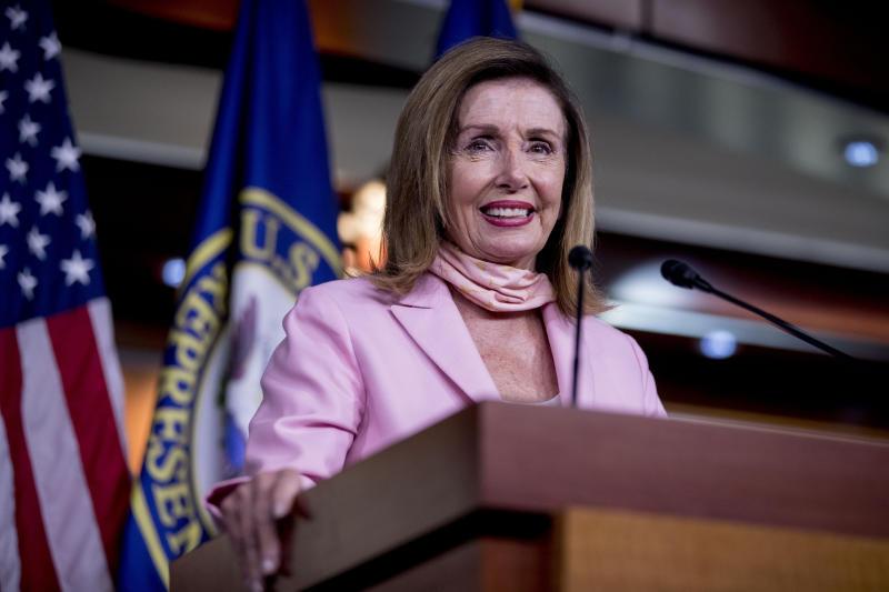 Virus Outbreak Congress Pelosi