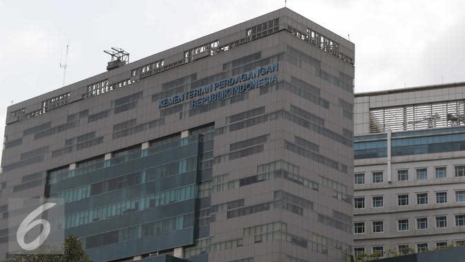 Gedung Kementerian Perdagangan Republik Indonesia (Liputan6.com/Angga Yuniar)