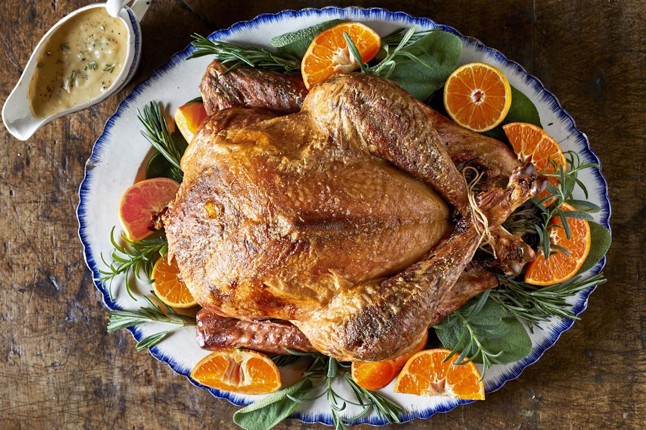 """<p>Thanksgiving is often a day for celebration: We gather with friends and family, we think about the people and the things that we are grateful for, and of course we share food and we feast. But for those of who who are trying to stay healthy and keep our eating habits on track, Thanksgiving can be difficult to navigate. After all, overindulging is a big part of the fall and winter holiday <a href=""""https://www.countryliving.com/entertaining/"""" target=""""_blank"""">entertaining</a> traditions, from Halloween candy and <a href=""""//www.countryliving.com/food-drinks/g1384/thanksgiving-desserts/"""" target=""""_blank"""">Thanksgiving desserts</a> to Christmas Cookies and New Year's Champagne. So what's a person on a diet (or just simply trying to eat a little better) to do? </p><p>You <em>don't</em> want to try to abstain entirely from any kind of fun or indulgent food. Even if you manage to white-knuckle it through all of the holidays, you won't enjoy yourself, and it'll only increase your desire for foods you """"can't"""" have. Instead, focus on adding taste where it really counts, make sure there's a good mix of healthy foods like <a href=""""https://www.countryliving.com/food-drinks/g4710/thanksgiving-salad/"""" target=""""_blank"""">Thanksgiving salads</a> and also some indulgent foods on the table, and help yourself to a reasonable portion of both. Here's our list of some of our favorite <em>tasty</em> but also relatively healthy Thanksgiving recipes. These still contain some butter, sugar, salt, and even carbs. But they're not over-the-top indulgent. You can make them, and eat them in reasonable portions, sure in the knowledge that you're still keeping healthy. And if you <em>do</em> go back for that second slice of pie? Don't beat yourself up! A once-a-year feast won't negate all the hard work you've put into <a href=""""https://www.countryliving.com/food-drinks/g32998491/healthy-fall-recipes/"""" target=""""_blank"""">eating healthy</a> for the rest of the year. <em></em><em></em><em></em></p>"""