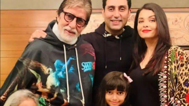 Aishwarya Rai Sembuh dari Virus Corona, Amitabh Bachchan Masih di RS