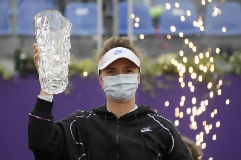 Svitolina heads to Paris after winning in Strasbourg