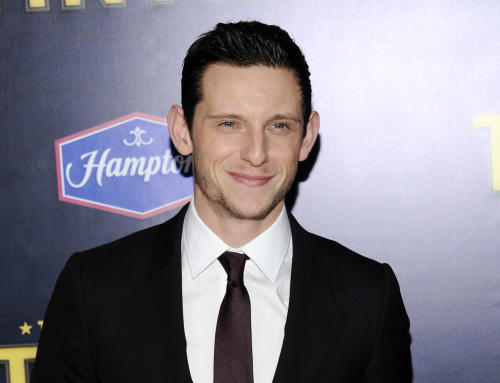 """FILE - In this Dec. 11, 2011 file photo, actor Jamie Bell attends the premiere of """"The Adventures of Tintin"""" at the Ziegfeld Theatre in New York. Bell and his wife, actress Evan Rachel Wood welcomed a baby boy on Monday, July 29, 2013. They were married last year. (AP Photo/Evan Agostini, File)"""
