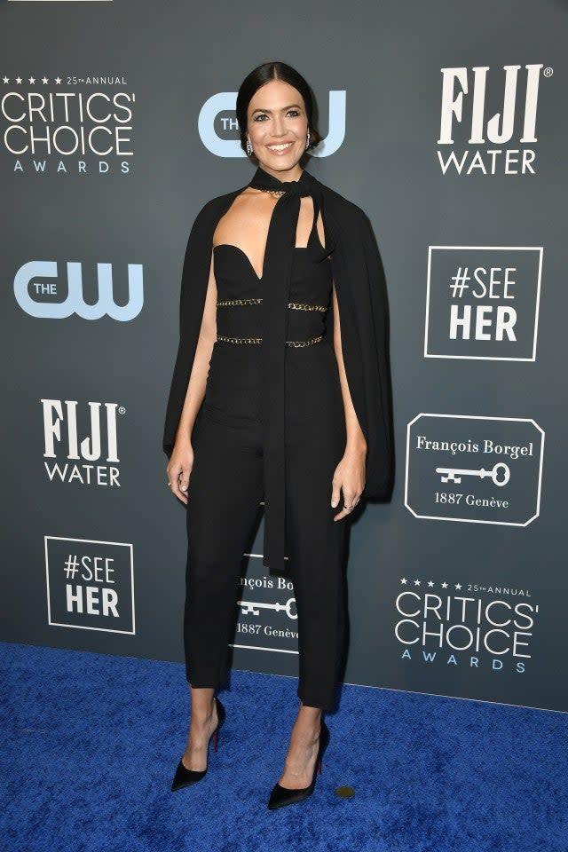 Mandy Moore at 2020 Critics' Choice Awards