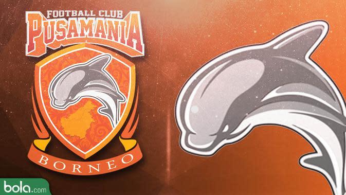 Pusamania Borneo FC Logo (Bola.com/Adreanus Titus)