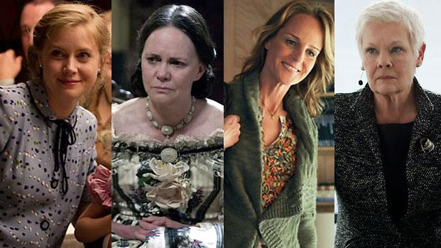 Best Supporting Actress Contenders: Anne Hathaway, Amy Adams, and Sally Field take the lead