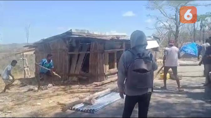 Warga Besipae NTT Diserang Massa Desa Tetangga, Warga Luka-Luka