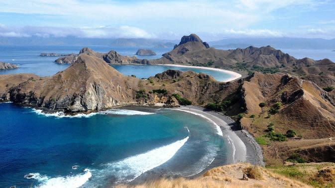 Keindahan Pulau Padar, Labuan Bajo. (Bola.com/Pixabay)