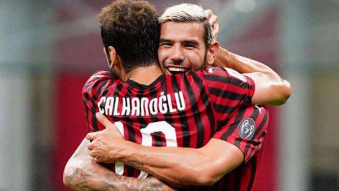 Gokil, Penampakan Gol Sensasional Milan Lawan Atalanta