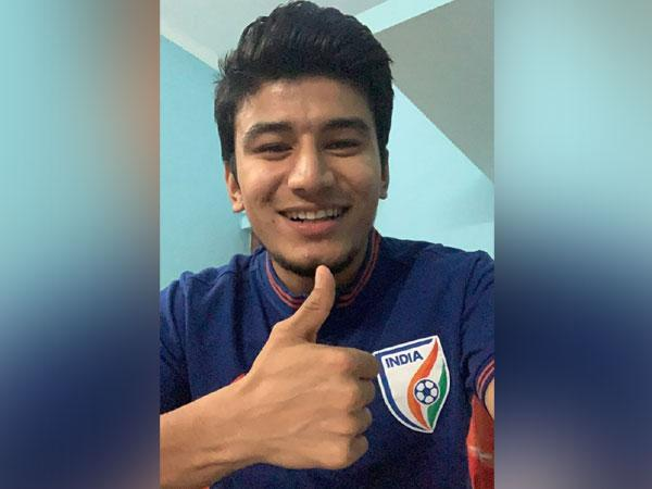 Indian midfielder Anirudh Thapa (Photo/Indian Football Team Twitter)