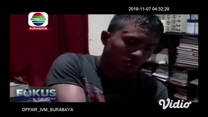 VIDEO: Jambret Gagal Ambil Tas Mahasiswi di Rungkut Surabaya