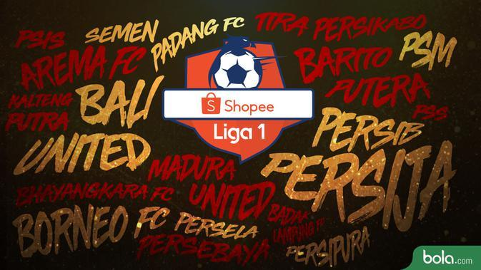 Klasemen Shopee Liga 1 2019 Jelang Laga Kalteng Putra vs Persija Jakarta
