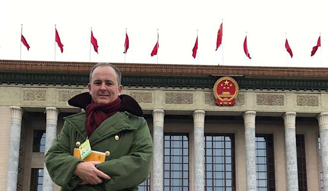 Matthew Carney said he was berated for stories portraying China in a negative light. Photo: Handout