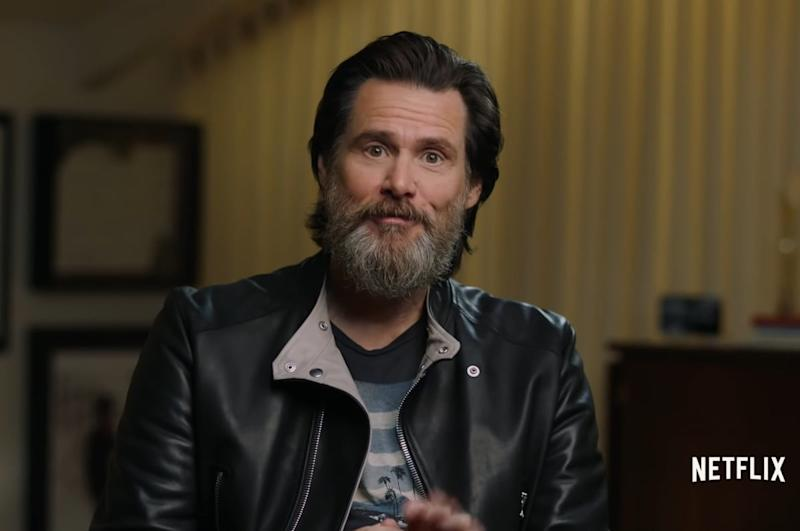 Jim Carrey in Jim And Andy: The Great Beyond
