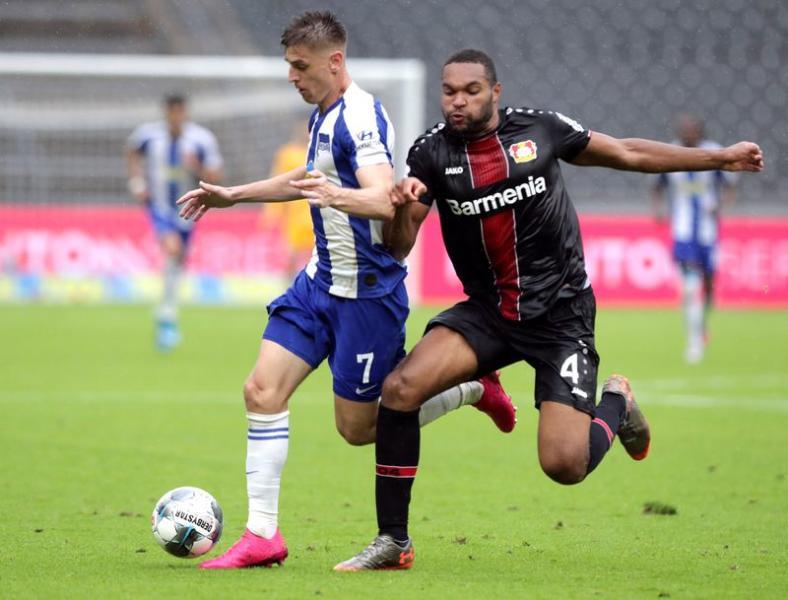 Bundesliga - Hertha BSC v Bayer Leverkusen