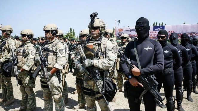 VIVA Militer: Prajurit Denjaka dan Kopaska TNI AL