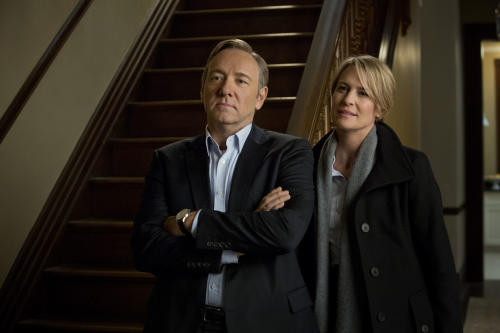 'House of Cards' Stars Talk Clintons, Political Marriages, and Rowing Machines