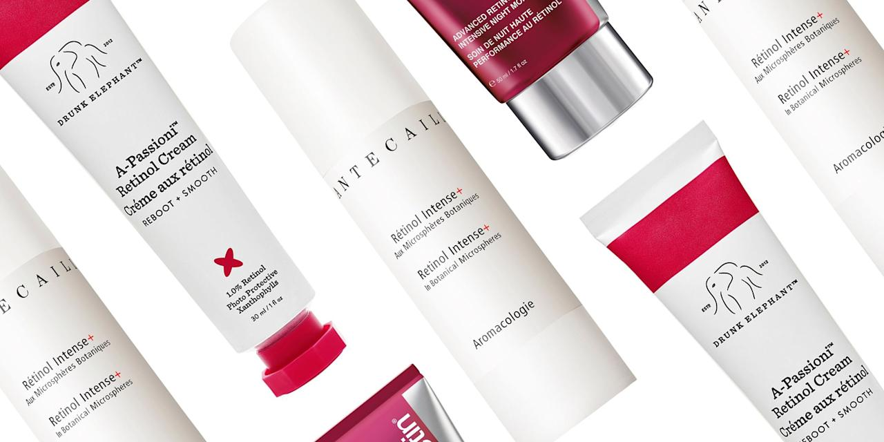 """<p>If you've stayed away from prescription <a href=""""https://www.harpersbazaar.com/beauty/skin-care/a28446458/retinol-benefits/"""" target=""""_blank"""">retinol</a> (the miracle anti-aging ingredient that will also give you the smoothest and clearest skin of your life) we don't blame you—it can be irritating. A derivative of vitamin A, retinol stimulates collagen production and cell turnover, which can help soften wrinkles, smooth skin texture, correct dark spots, <em>and</em> clear acne. But all that skin-perfecting power comes at a cost, including dryness, redness, irritation, and sun sensitivity. These side effects usually subside after a few months—but if you don't have time to wait, we've got a solution: retinol creams.  You reap all the benefits, plus added hydrating, nourishing ingredients to minimize dryness and irritation. Ahead, learn about the tried-and-true retinol creams that are worth integrating into your nightly routine ASAP.</p>"""