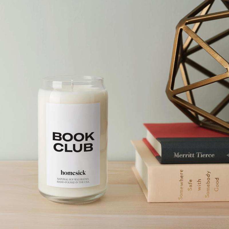 Homesick Book Club Candle (Photo via Homesick)
