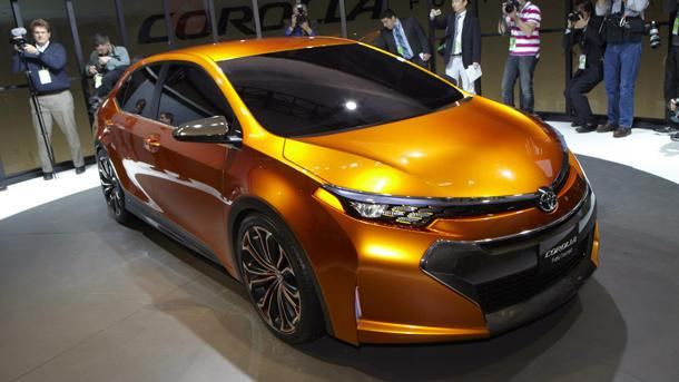 Toyota Corolla Furia Concept vanishes the beige