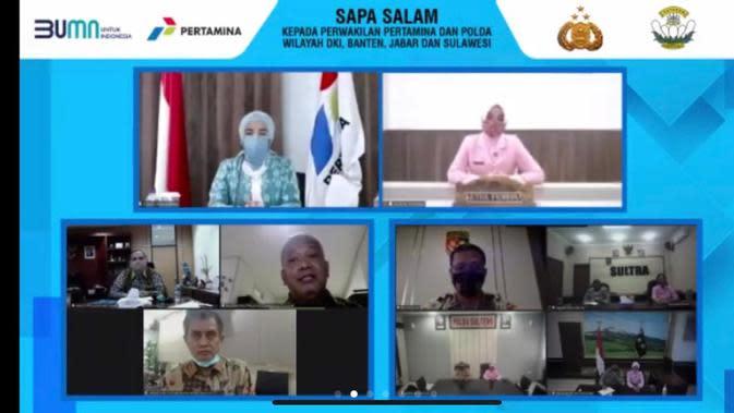 Bantu Pendidikan Anak Saat Pandemi, Pertamina, Polri dan YKB Salurkan 542 Laptop ke 34 Provinsi