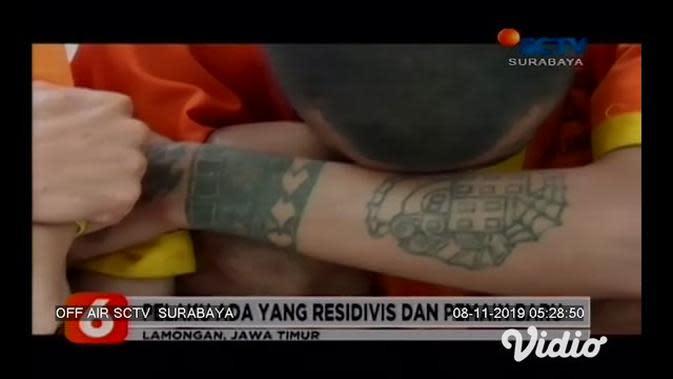 VIDEO: Polres Lamongan Bekuk 10 Pengedar Narkoba, Sita 7.000 Pil Berbahaya