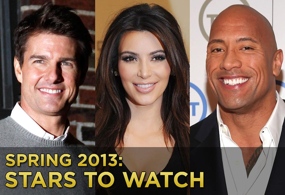 Spring 2013 Stars to Watch