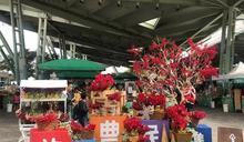 十二月花博農民市集 農情聖誕月
