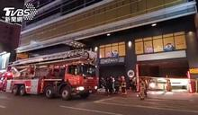 唐吉訶德大樓深夜火警 警消緊急疏散39人