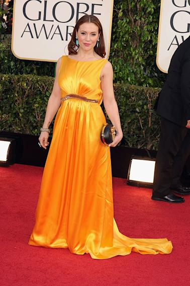70th Annual Golden Globe Awards - Arrivals: Alyssa Milano