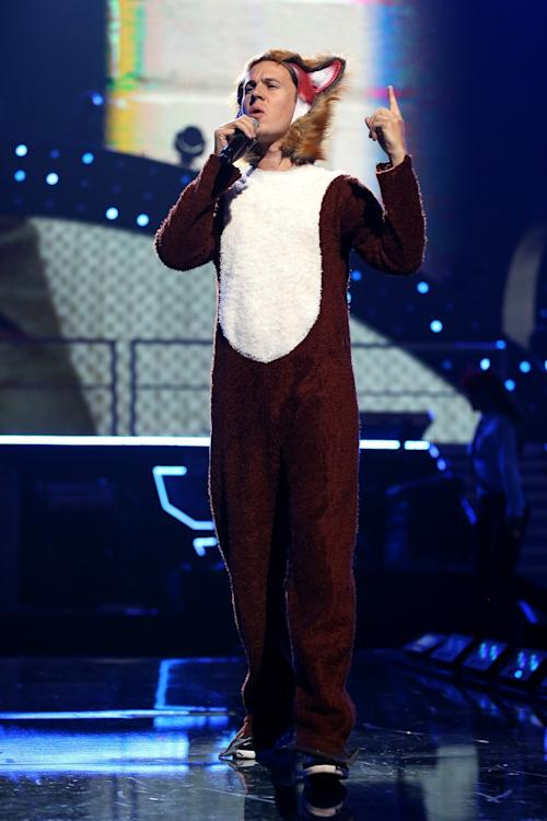 Comedy Duo Ylvis Make A 'Foxy' Surprise Appearance at 2013 iHeartRadio Music Festival