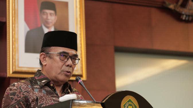 Menteri Agama (Menag) Fachrul Razi (foto: dokumentasi Kemenag)