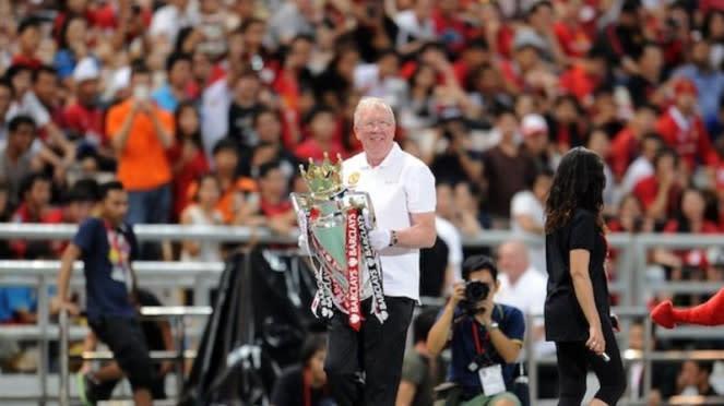Pria yang mirip Sir Alex Ferguson