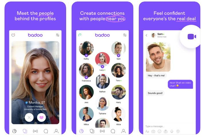 Badoo international dating app