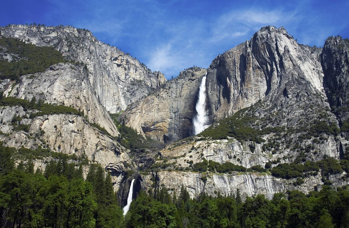 "<a href=""https://bestlifeonline.com/best-national-park-in-each-state/?utm_source=yahoo-news&utm_medium=feed&utm_campaign=yahoo-feed"" target=""_blank"">Yosemite National Park</a> is home to one of the world's tallest waterfalls: Yosemite Falls. To see the waterfall up close, hikers can either venture out on an all-day hike to reach the top or opt to do the simple one-mile loop trail for a view of the base.  <strong>Pro tip:</strong> Stay at the <a href=""https://www.travelyosemite.com/lodging/yosemite-valley-lodge/"" target=""_blank"">Yosemite Valley Lodge</a> to get a glimpse of the falls from your own private room."
