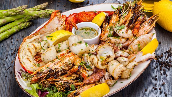 Ilustrasi Seafood (Vsl/Shutterstock)